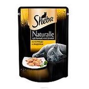 Sheba 80г пауч Naturalle Влажный корм для взрослых кошек Курица и индейка фото