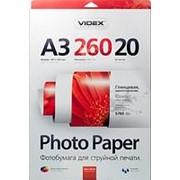 ФОТОБУМАГА Videx А3 260 г/м2 глянцевая (20 листов) фото
