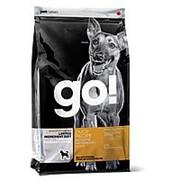 GO! 2.72кг Сухой беззерновой корм для взрослых собак и щенков всех пород с чувствит. пищевар. Утка фото