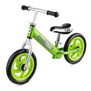 Беговел Small Rider Foot Racer с лыжами и колесами EVA (Green) фото