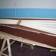 Гроб деревянный Шёлк фото