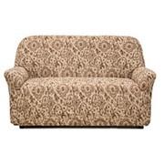 Натяжной чехол на двухместный диван Еврочехол Еврочехол «Виста. Флоренция» фото