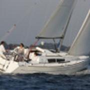 Перегон парусной яхты морем фото
