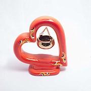 Ароматическая лампа Сердце 18*15 см фото