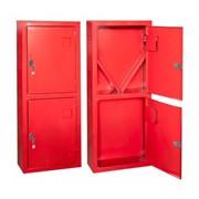 Шкаф металлический для пожарного крана фото