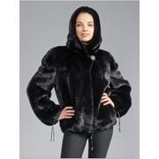 Куртка женская меховая, норка, мод. № 230/S-L/тон1/, изделие из натурального меха фото