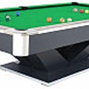 Бильярдный стол для пула «Victory II Plus» 9 ф (черный) фото
