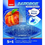 Мыло для туалета Навесной контейнер Sano Bon Blue Peach 55g фото