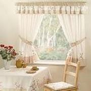 Занавески и шторы для кухни фото