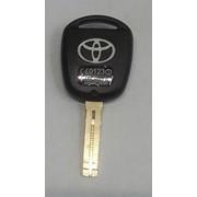 Toyota TOYO-36P корпус пульта 3 кнопки с лезвием, с лого б/электроники (60044) фото