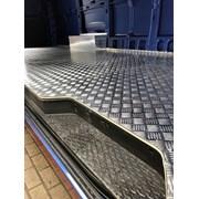 Алюминиевый лист рифленый от 1,2 до 4мм, резка в размер. Гладкий лист от 0,5 мм. Доставка по всей области. Арт-128 фото