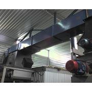 Система подачи древесных отходов в топку котла выполненная на основе скребкового транспортера фото