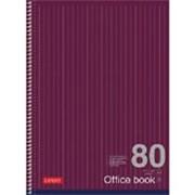 Тетрадь А4 Expert Office Book А4 линейка 80л, на спирали фото
