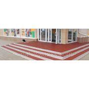 Рулонные ковры из резиновой крошки, (1,5 м*6,0 м*10 мм) 9 кв.м фото