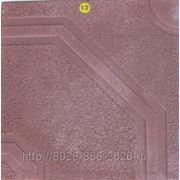 Тротуарная плитка «Фреско» 400*400*50 КР. фото