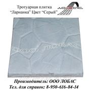 Тротуарная плитка «Ларнака», цвет «Серый» фото