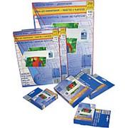 Заготовки для ламинирования ProfiOffice , 54*86 мм, 125 мкм, 100 шт. фото
