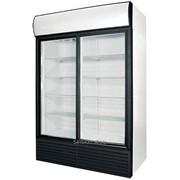 Шкаф холодильный Polair со стеклянными дверьми BC110Sd фото