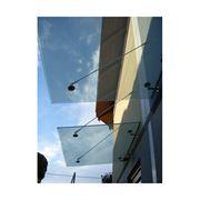 Фурнитура для стеклянных козырьков навесов и спайдер системы фото