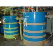 Баки емкости резервуары из химически стоайких материалов фото