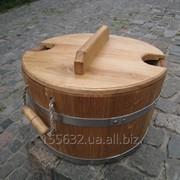 Запарник для бани круглый и овальный фото