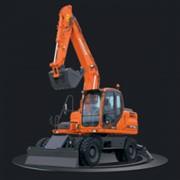Экскаватор Doosan DX 140 W фото