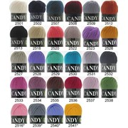Пряжа для ручного и машинного вязания Vita Candy фото