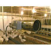 Воздухонагреватели газовые ВГ-0.04 ВГ-0.07 ВГ-0.09 мощностью 40 70 и 90 кВт фото
