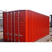 Морской контейнер 20 футовый фото
