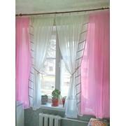 Комплект штор вуалевый Ирма фото