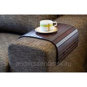 Реечный столик - квадрат фото