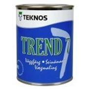 Водоразбавляемая акрилатная матовая Trend 7, мат. 0,9л, Teknos фото