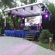 Звуковое, световое, сценическое и LED оборудование для мероприятий фото