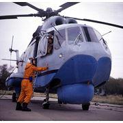 Транспортный вертолёт-амфибия Ми-14 после КВР с ЛТХ Ми-8МТВ-1 фото