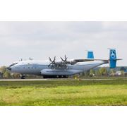 Транспортный самолёт Ан-22 Антей после КВР в 2014 г фото