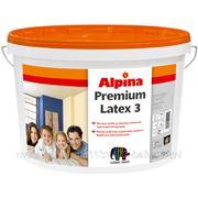 Caparol Alpina Premiumlatex 3 краска (5 л) белая фото