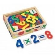 Детские деревянные магнитные цифры фирмы «Melissa i Doug». фото