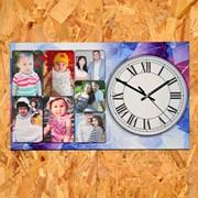 Часы настенные с фотографией фото