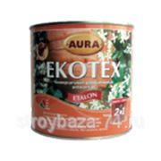 Антисептик УФ-фильтр .алкидный для древесины Ekotex Акация 1л фото