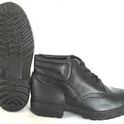 Ботинки мужские юфтевые с мягким кантом фото