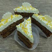 Пирожное Лимонный десерт, с сорбиновой кислотой фото