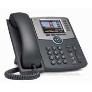 Linksys SPA525G2 Телефон VoiceIP 5-Line IP Phone with Color Display, PoE, 802.11g, Bluetooth, без БП фото
