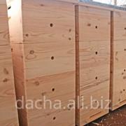 Изготовление деревянных ульев для пчел фото