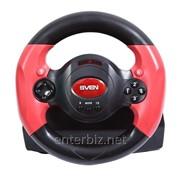 Руль SVEN SPEEDY черно-красный USB фото