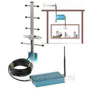 РЕПИТЕР/Усилитель сотового сигнала на 100 кв.м (готовый к установке комплект), gsm 900 фото