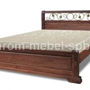 Кровать Эстель ковка фото