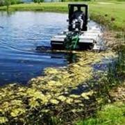 Очистка водоемов, прудов, озер фото