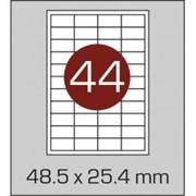 Этикетки самоклеящиеся 48,5х25,4 мм фото