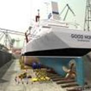 Ремонт судов и кораблей в сухом доке, Севастополь фото