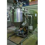 Вакуумно-гомогенизирующий аппарат (установка гидродинамическая) серии АВГ-300 фото